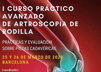 I Curso práctico avanzado de Artroscopia de Rodilla